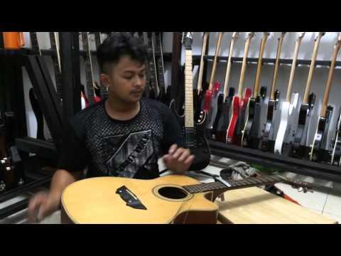 Cara Setting gitar akustik biar ceper dan enak dipakai