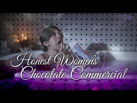If Chocolate Ads Were Honest