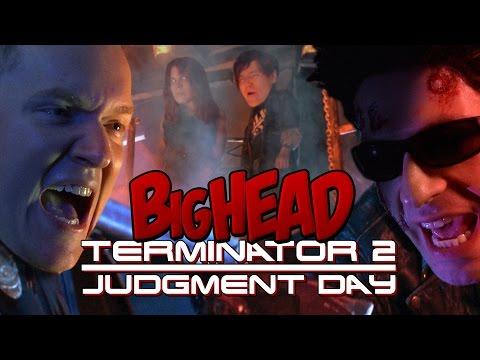 BigHead Terminator 2: Judgment Day Parody - Lowcarbcomedy - 동영상