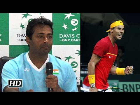 Leander Paes Comments On Rafael Nadal's Performance | Davis Cup 2016