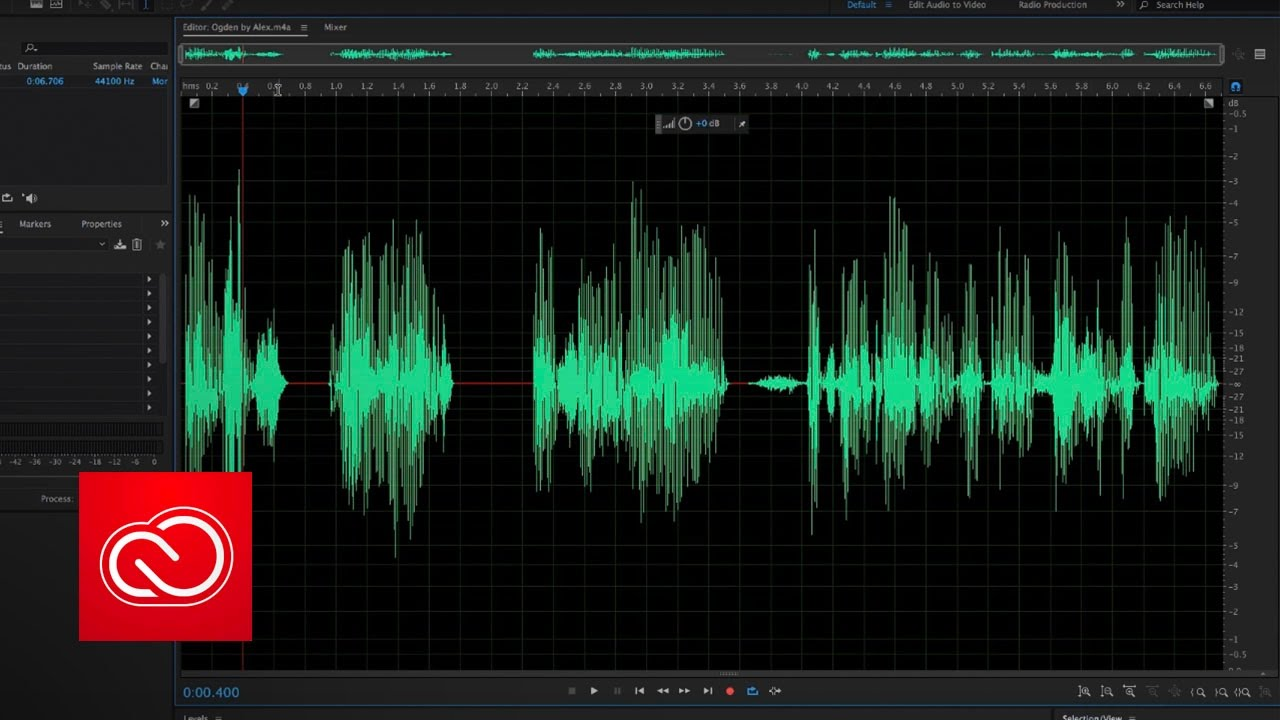 Audio effects and transitions in Adobe Premiere Pro