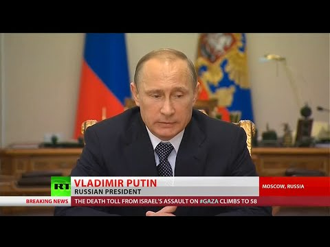 Ukraine must take responsibility for MH17 - Putin