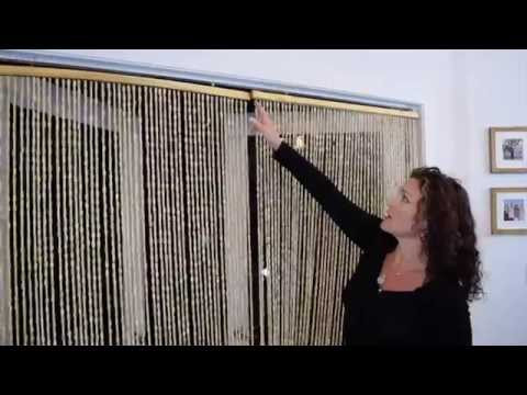 Wooden Beaded Curtains - ShopWildThings Demo Video