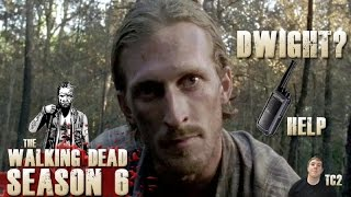 The Walking Dead Season 6 Episode 7 Heads Up - Is it Dwight on the Walkie Talkie?