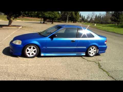 1999 Honda Civic DX body kit