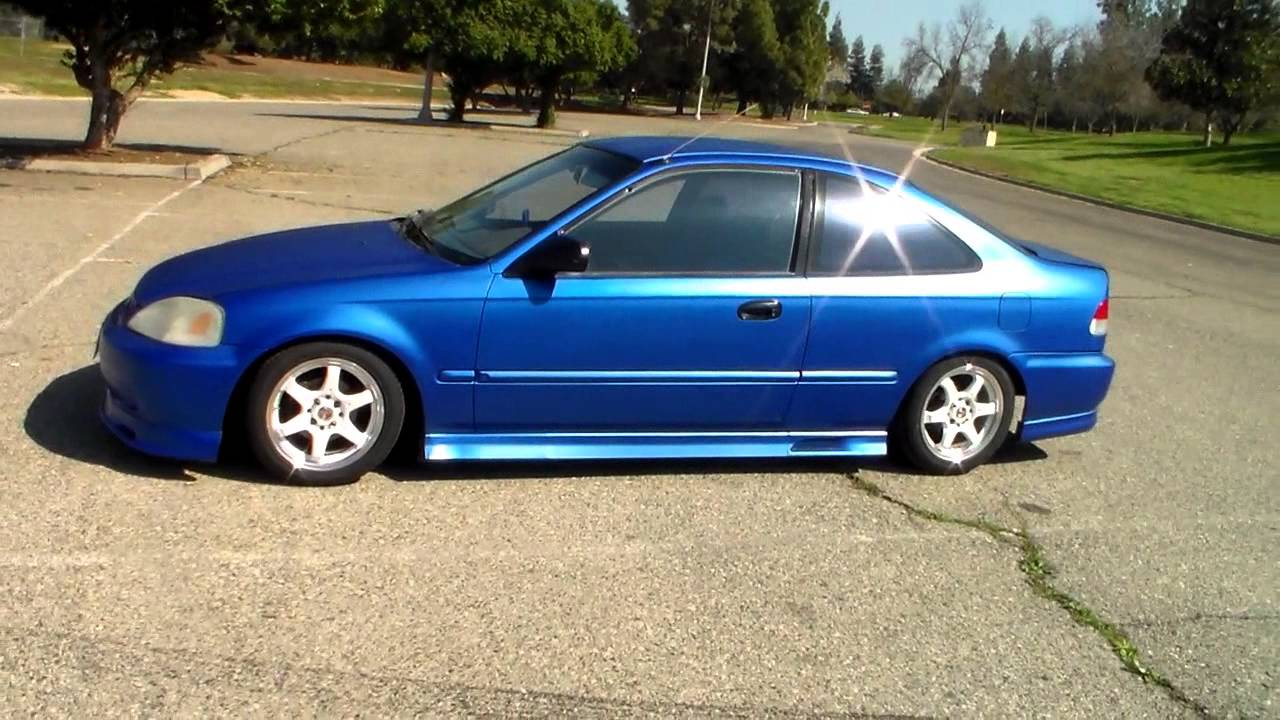 1999 Honda Civic DX Body Kit