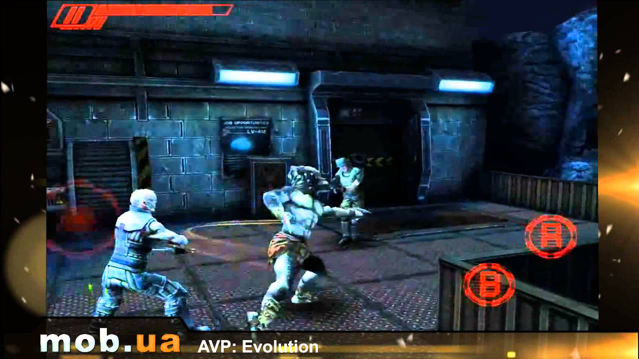 Alien VS Predator PSP Android Gameplay . ( Using PPSSPP ...