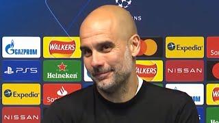 Man City 2-0 PSG (Agg 4-1) Pep Guardiola - Post-Match Press Conference - Champions League Semi-Final