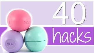 40 EOS LIFE HACKS EVERY GIRL SHOULD KNOW! //