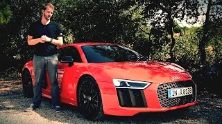 Audi R8 Test 2016 V10 Plus 5.2 FSI QUATTRO (610PS) - #ilovecars