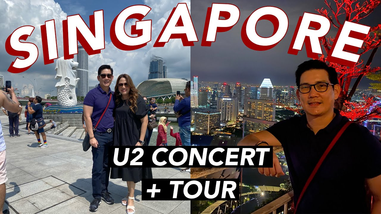 BEFORE COVID: FLEW TO SINGAPORE FOR A CONCERT | RICHARD YAP