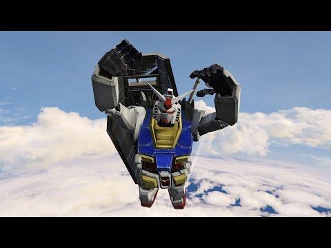 หุ่นรบกันดั้ม กองกำลังสหพันธ์โลก (GTA 5 Mods)