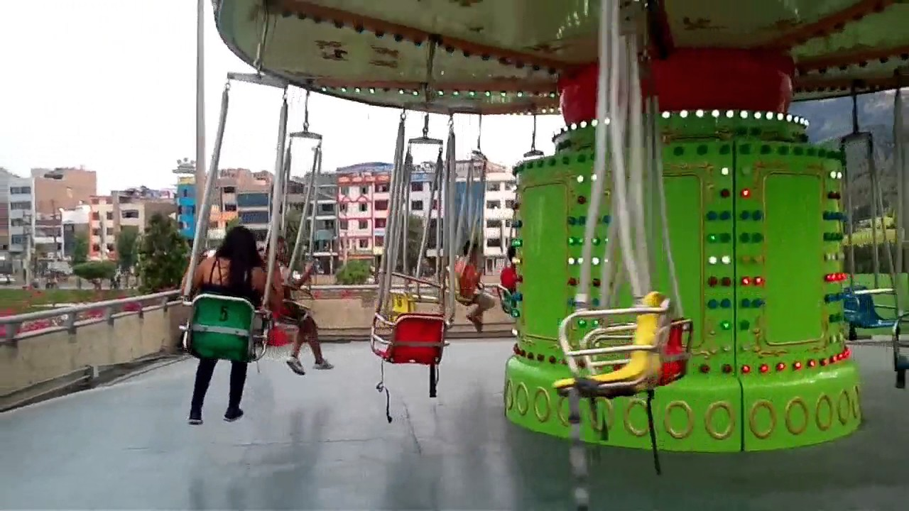 Juegos Mecanicos Plaza Norte Youtube