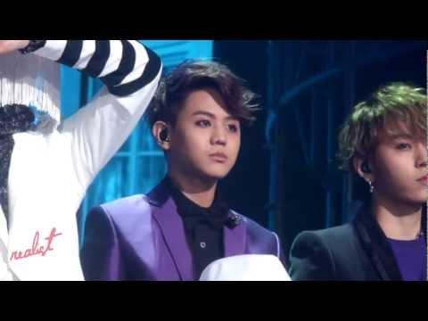 [121221 Music bank] Junhyung & Yoseob_ Caffeine