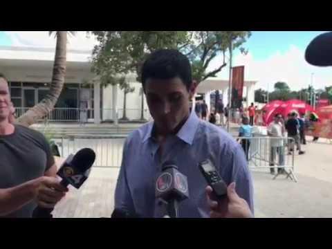College GameDay analyst David Pollack on Miami atmosphere