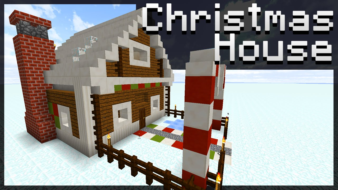 Minecraft Christmas Houses.Minecraft How To Build A Christmas House Small Medium