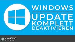 Microsoft Windows 10 - Windows Update für immer komplett deaktivieren Tutorial