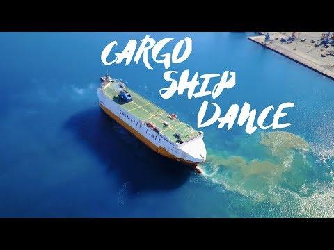 THE CARGO SHIP DANCE! Dancing Across The Mediterranean Sea