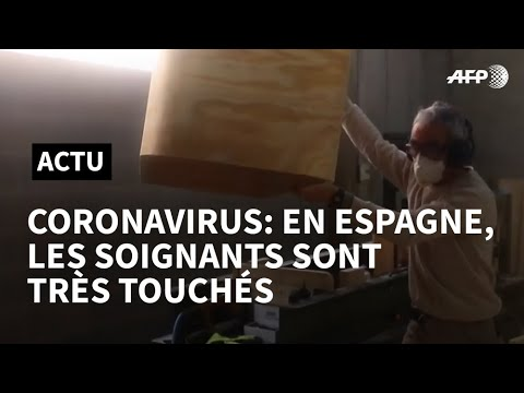 AFP: Coronavirus: 19.400 travailleurs de la santé infectés en Espagne | AFP