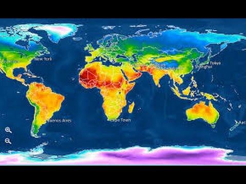 توزيع السكان فى العالم - دراسات الصف الثالث الاعدادى