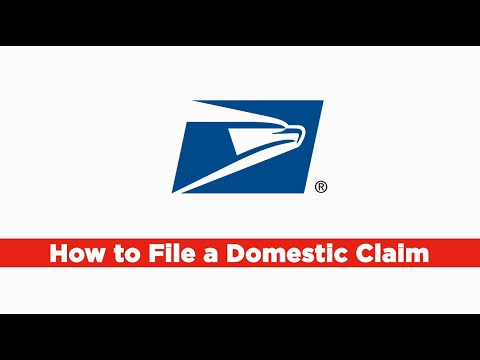 File A USPS Claim Online (Domestic)