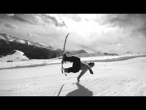 My first day on J skis.