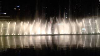 Dubai - The Dubai Fountain take two