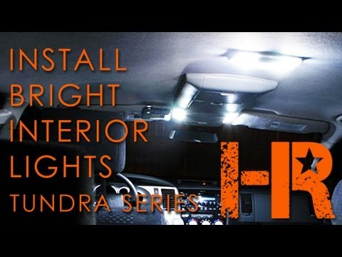 2007-2013 Toyota Tundra Interior Lights | Headlight Revolution | Tundra Series (6)