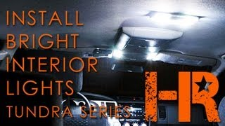 2007-2013 Toyota Tundra Interior Lights | Headlight Revolution | Tundra Series (6)