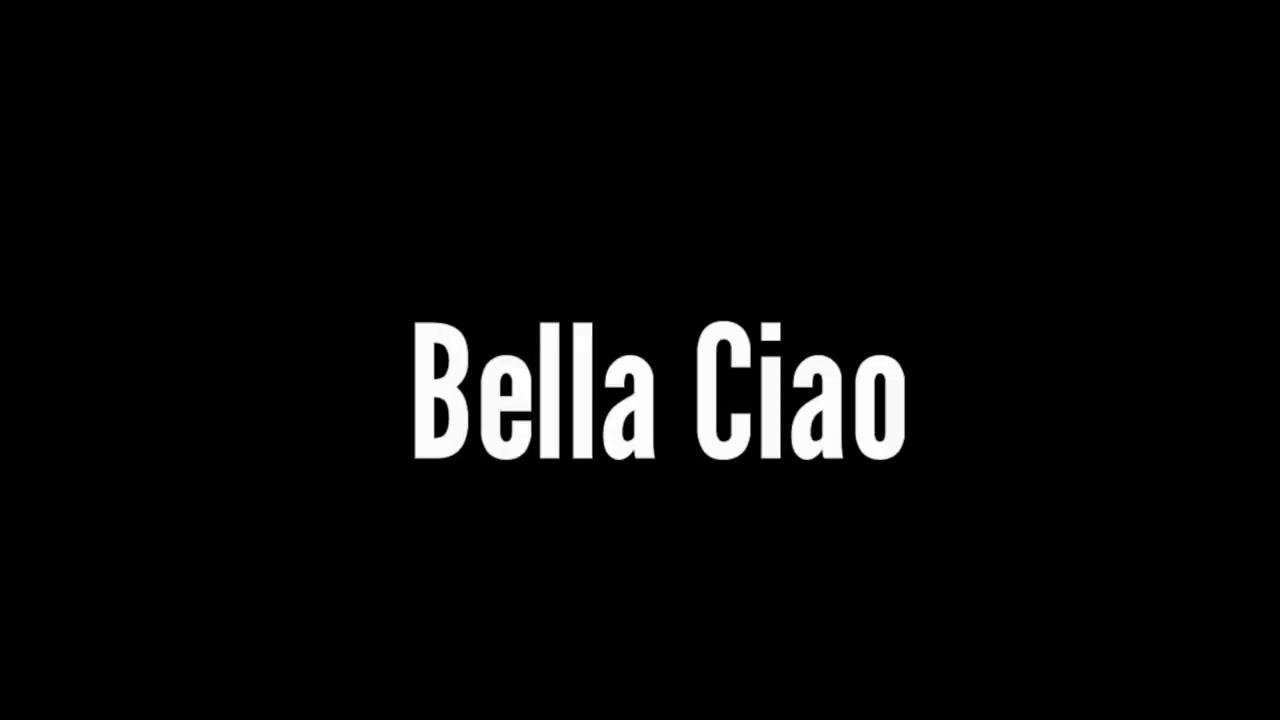 La Casa De papel - Bella Ciao( lyrics) - YouTube