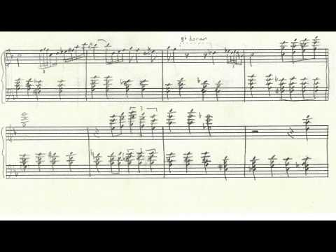 The Nearness of You Red Garland Transcription