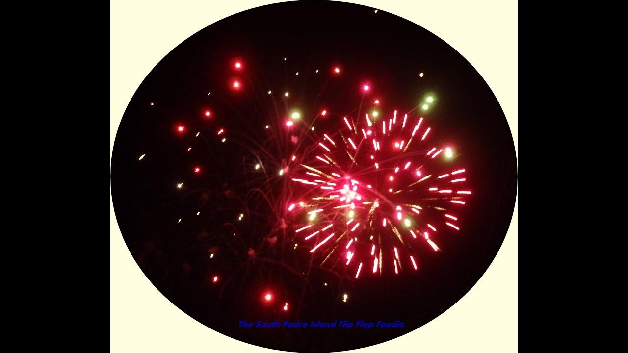 Clayton S South Padre Island Fireworks