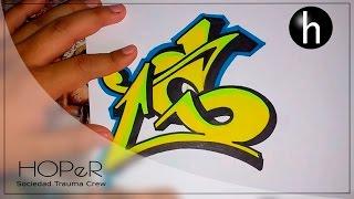 "Letra ""S"" en grafiti  | Graffiti letter ""S"""