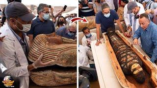 Mumi Berusia 2600 Tahun yang Lalu Di Buka!! Begini Jadinya\/\/ Penemuan Mesir Kuno Terbaru 2020