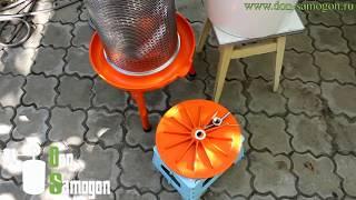 видео Гидропресс своими руками для отжима сока