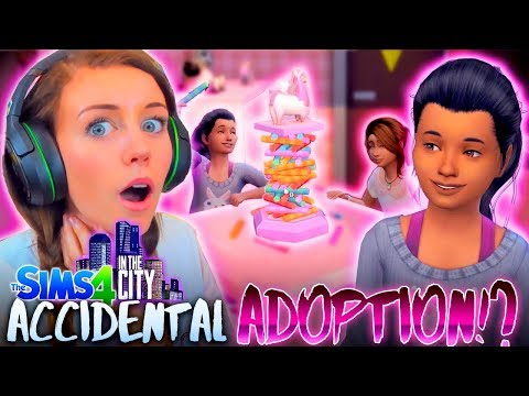 So I accidentally adopted a child...😅(The Sims 4 IN THE CITY #17! 💒)