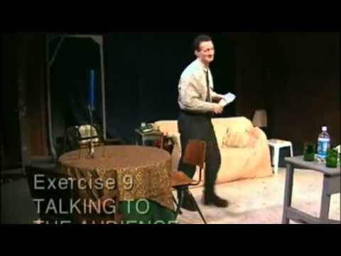 Talking to the Audience