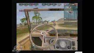Battlefield 1942 PC Games Gameplay - Jeep Race 1