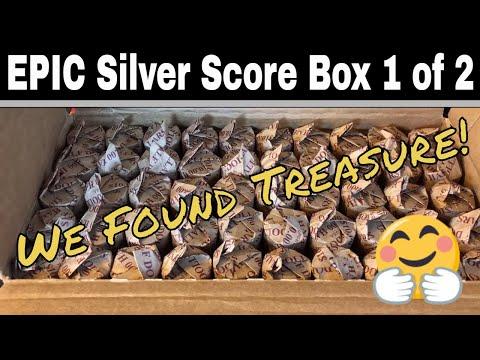 Mega Silver Half Dollar Hunt - Box 1 of 2
