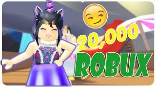 20,000 ROBUX FOR YOU! SUPER PARTY WITH AWARDS! - Suliin18yt Roblox