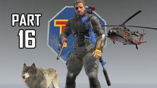 Metal Gear Solid 5 The Phantom Pain Walkthrough Part 16 - Legendary Bear Hunter ( MGS5 Let