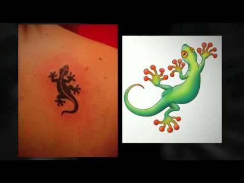 Gecko Tattoo Designs