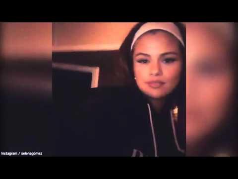 Selena Gomez shows off her talent in the studio