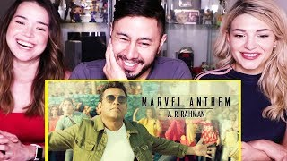 MARVEL ANTHEM | A.R. Rahman | Hindi | Reaction!