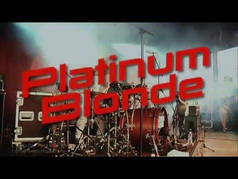 PLATINUM BLONDE - LIVE - CLOVERDALE B.C. - by Gene Greenwood