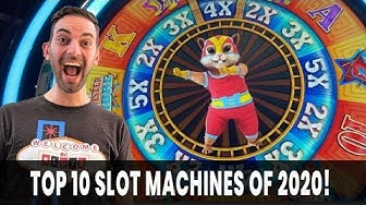 🎰 Top 10 Slot Machines of 2020 from G2E 😱 Brian Christopher Slots