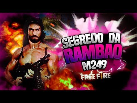 💥FREE FIRE - DESCOBRI O SEGREDO PARA MATAR COM A RAMBO(M249)! thumbnail