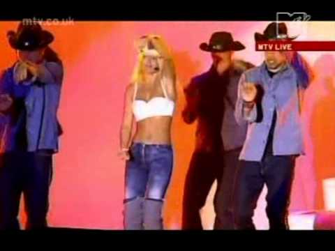 Geri Halliwell - These Boots Are Made For Walking - Live At Ibiza 2000