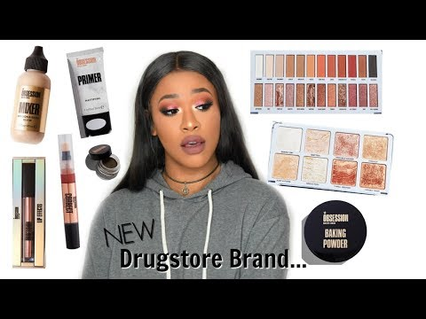 FULL FACE TESTING OBSESSION MAKEUP LONDON! NEW AT THE DRUGSTORE!