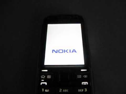 Nokia E52 - power down